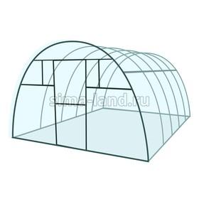 Каркас теплицы «Премиум», 6 × 3 × 2,1 м, металл, профиль 40 × 20 мм, шаг 1 м, 1,5 мм, без поликарбоната Ош