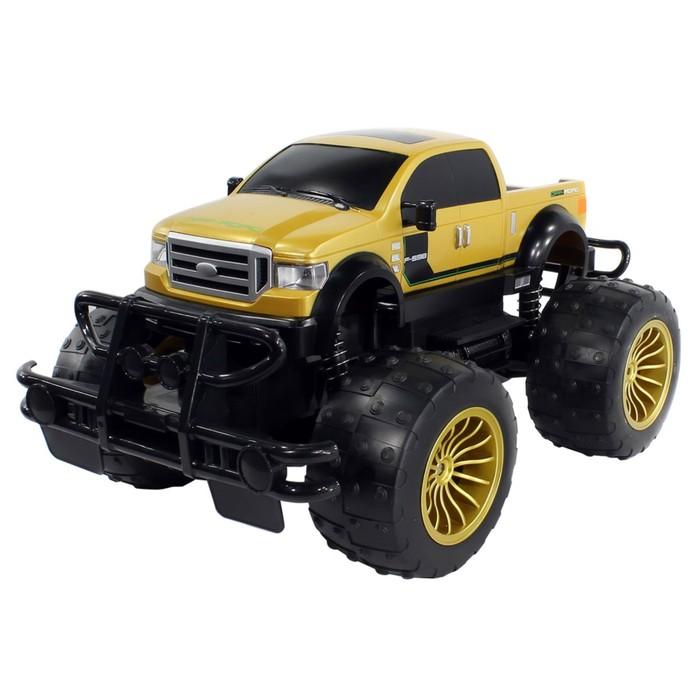 Машина радиоуправляемая Bazooka 2WD 1:8, цвет жёлтый