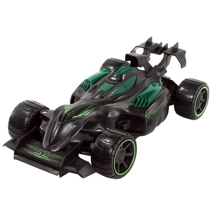 Машина радиоуправляемая Bazooka 2WD, 1:12, цвет черно-зеленый