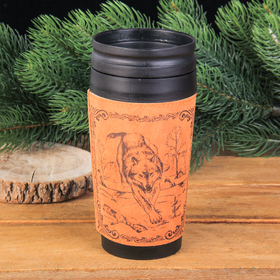"""The vacuum Cup """"Wolf"""", 400 ml"""
