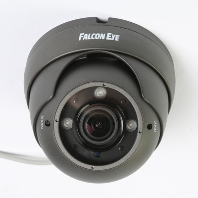 Видеокамера купол Falcon Eye FE-IDV1080MHD/35M, AHD/CVI/TVI, 2 Мп,1080Р(FullHD), starlight