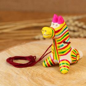 Filimonovskaya toy whistle Horse
