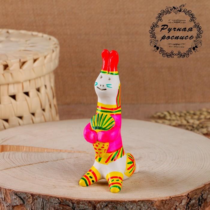 Филимоновская игрушка «Заяц»
