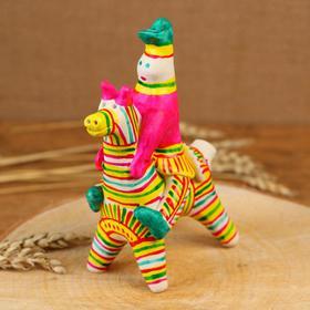 Филимоновская игрушка «Всадник»