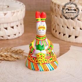 Филимоновская игрушка колокольчик «Заяц»