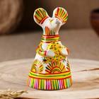 Филимоновская игрушка колокольчик «Мышь»