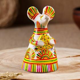 """Filimonovskaya toy bell """"Mouse"""""""