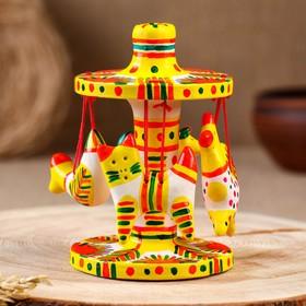 Филимоновская игрушка «Карусель»