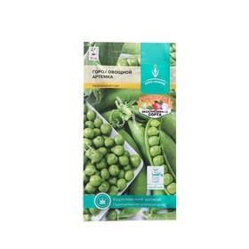 Семена Горох 'Артемка' среднеранний, овощной, низкорослый, сладкий, 5 г Ош
