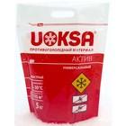 """Реагент антигололёдный """"UOKSA Актив"""", 5 кг, универсальный, работает при -30°C, в пакете"""