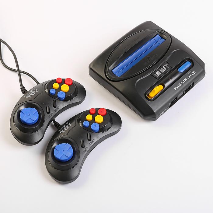 Игровая приставка SEGA Magistr Drive 2 (9 встроенных игр)