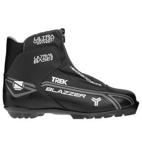 Ski boots TREK Blazzer Comfort NNN IR, black, logo gray, size 38.