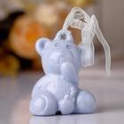 "Souvenir bell ""Blue bear"" rhinestones 6,5x5,5x4 cm"