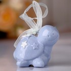 "Souvenir bell ""Blue bug in asterisk"" rhinestones 5х6х4,5 cm"