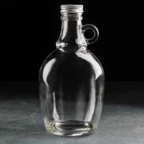 Бутыль для вина и масла «Джентльмен», 1,2 л, 11,5×11,5×22,5 см