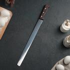 Нож для бисквита с крупными зубцами, рабочая поверхность 35 см