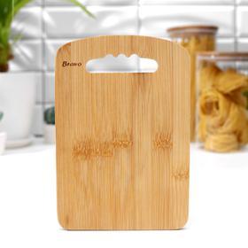 Доска разделочная Bamboo, бамбук, 22×15×1 см