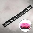 Форма кондитерская-трафарет для шоколада «Капли», 89,5х8,5 см, цвет чёрный - фото 308040736