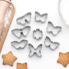 "Набор форм для выпечки ""Бабочки"", 8 шт - фото 145785969"