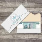 Конверт для денег формовой «С Днём рождения», балерина, 17,5 х 8 см