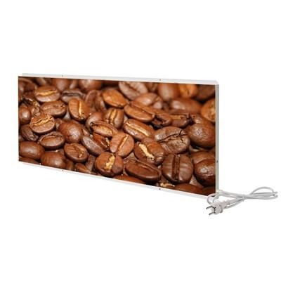 """Отопительная панель """"СТЕП 250 - Кофейные зёрна"""", 0.96 х 0.67 м"""