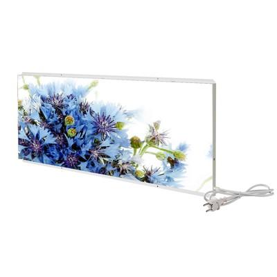 """Отопительная панель """"СТЕП 250 - Голубые цветы"""", 0.96 х 0.7 м"""