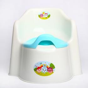 Горшок детский Little King «Малышарики», съёмная чаша, цвета МИКС