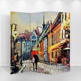 Ширма 'Картина маслом. Старая Европа', 160 × 150 см Ош