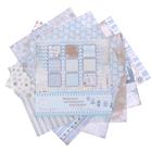"""Набор бумаги для скрапбукинга  """"Снежные узоры"""" набор 9 листов 180г/м2, 30,5х30,5см"""