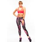 Леггинсы женские спортивные 89101, цвет розовый, р-р 40-44 (S/M)