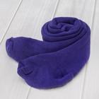 Колготки детские плюшевые 7с939, цвет фиолетовый, рост 74-80