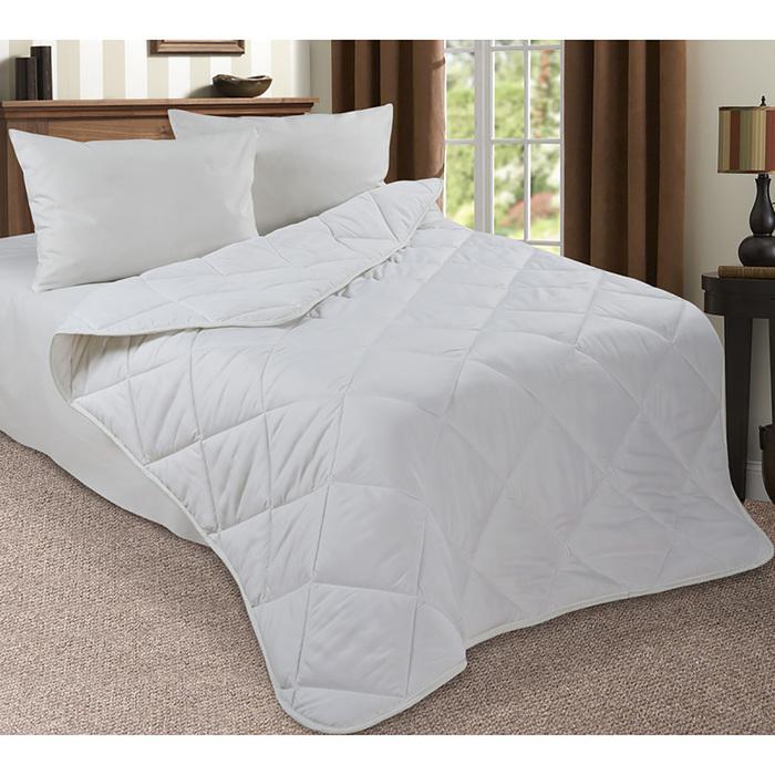 Одеяло в чемодане 172х205  см, поплин/лебяжий пух 300г/м2