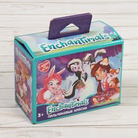 Пальчиковые краски 'Enchantimals', 4цв*40мл 88629 Ош
