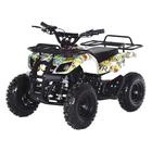 Квадроцикл детский бензиновый MOTAX ATV Х-16 Мини-Гризли с Механическим стартером, бомбер