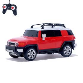 """Машина радиоуправляемая """"Toyota FJ Cruiser"""", масштаб 1:24, работает от батареек, свет, МИКС, mz 27055"""