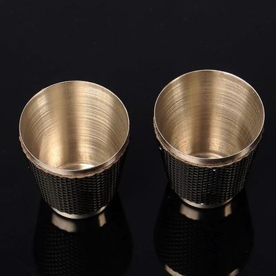 """Подарочный набор """"Рельеф"""" 4 в 1: фляжка 240 мл, воронка, 2 рюмки, чёрный, микс, 17х18 см"""