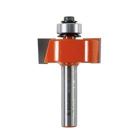 "Фреза ""Кратон"" PROFESSIONAL, кромочная фальцевая с подшипником, d=25.4 мм, Н реза=13 мм"