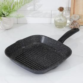 Grill pan 26 cm, square