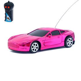 """Машина радиоуправляемая """"Ламбо"""", работает от батареек, цвета МИКС"""