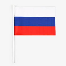 Флаг России 30 × 45 см со штоком Ош