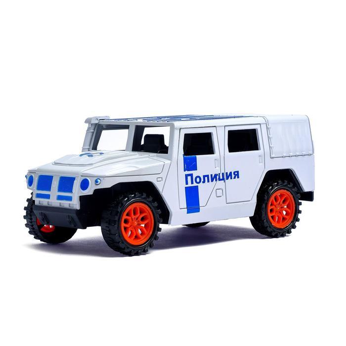 Машина инерционная «Тигр Полиция» - фото 105656579