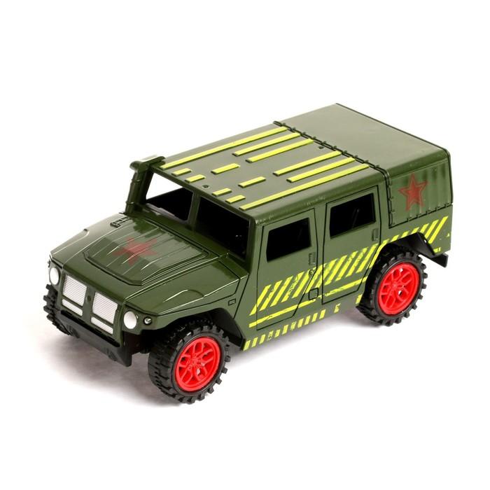 Машина инерционная «Тигр военный»
