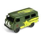 Машина инерционная «Микроавтобус военный» - фото 1023229