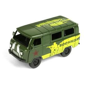 Машина инерционная «Микроавтобус военный»