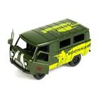 Машина инерционная «Микроавтобус военный» - фото 1023230