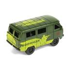 Машина инерционная «Микроавтобус военный» - фото 1023232