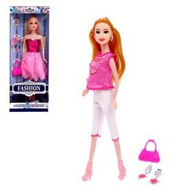 Кукла модель «Жанна» с аксессуарами, МИКС