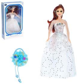 """Кукла модель """"Лана"""" в платье, с аксессуарами, МИКС"""