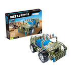 "Constructor metallic ""Military jeep"", 283 parts"