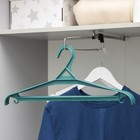 Вешалка-плечики для верхней одежды, размер 52-54, цвет МИКС